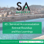 Artwork for #45 - Serviced Accommodation Retreat Roundup and Lessons Learnt