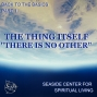 """Artwork for 01-13-19 Back to the Basics, Part 1 - The Thing Itself """"There Is No Other"""""""