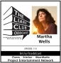 Artwork for The Liars Club Oddcast # 110 | Martha Wells, Award-Winning Fantasy and Science Fiction Author