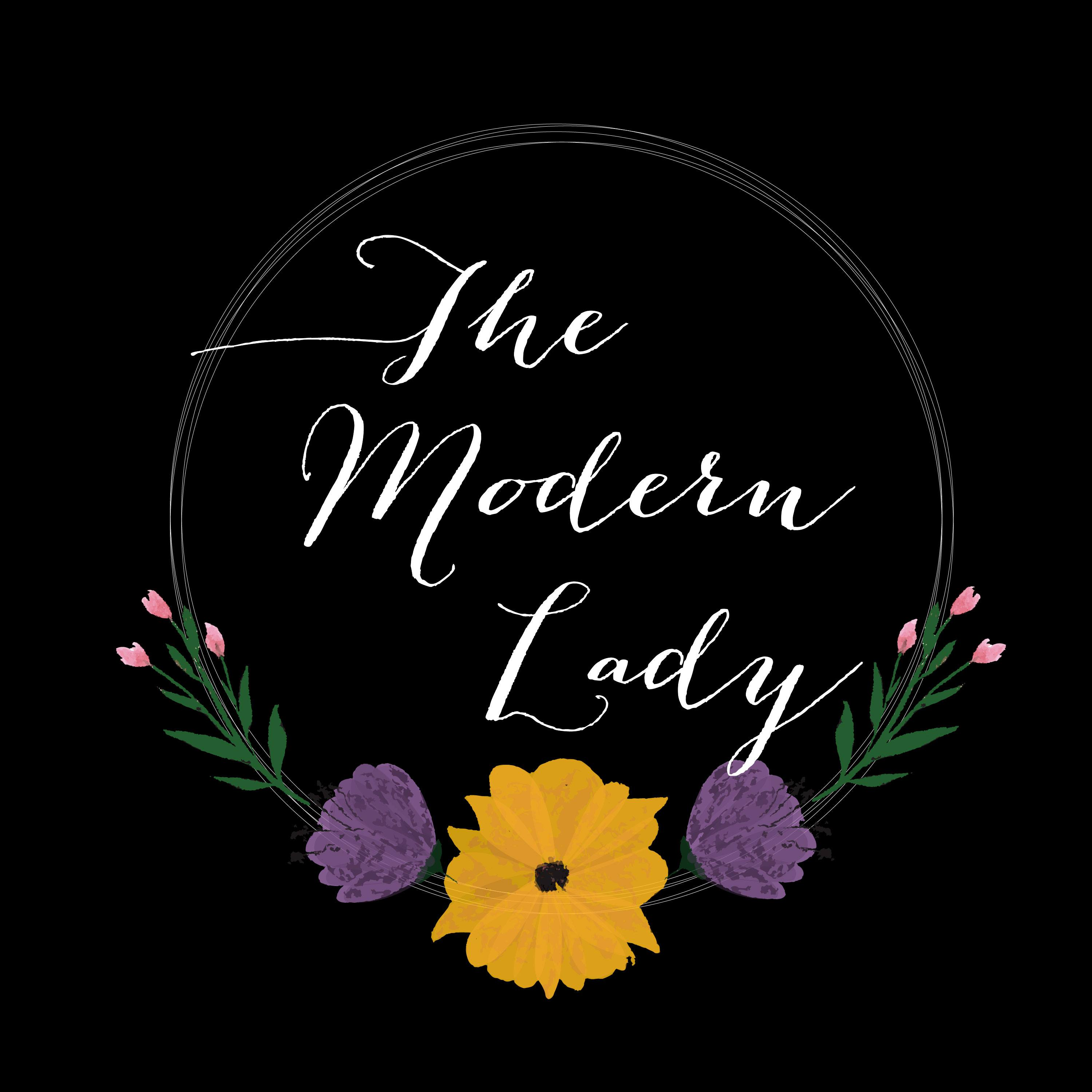 The Modern Lady Podcast show art