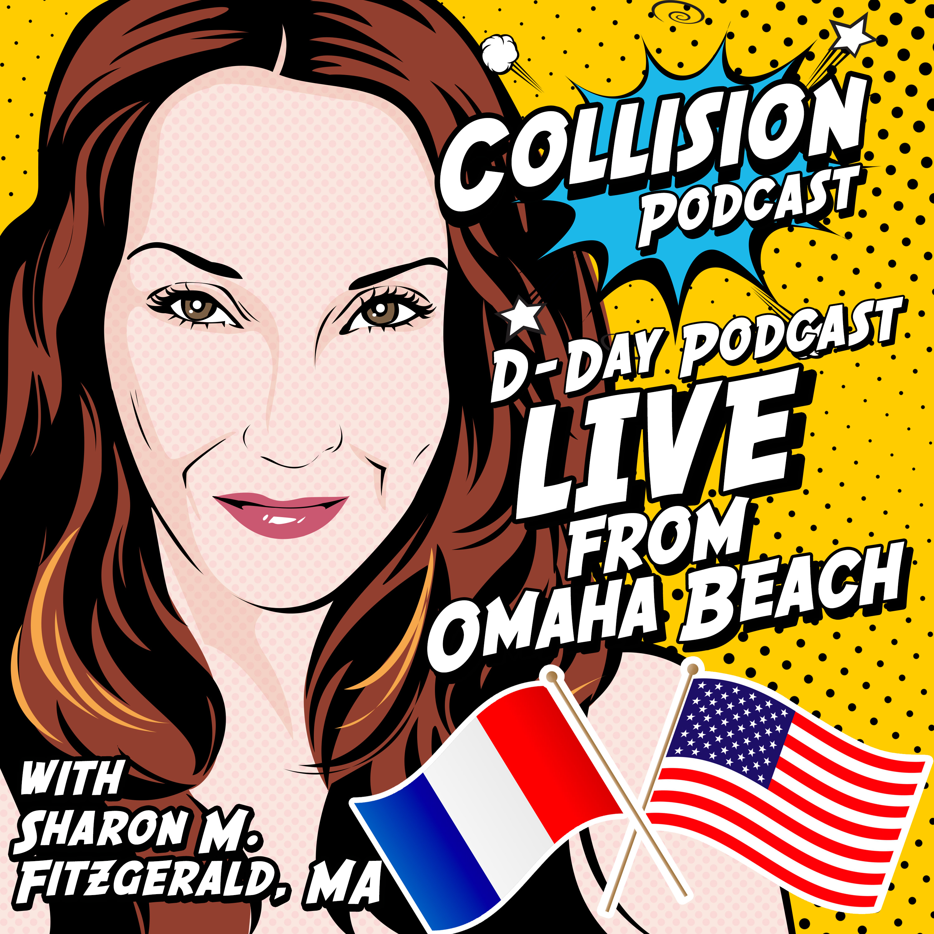 Collision Podcast: D-Day - Live from Omaha Beach show art