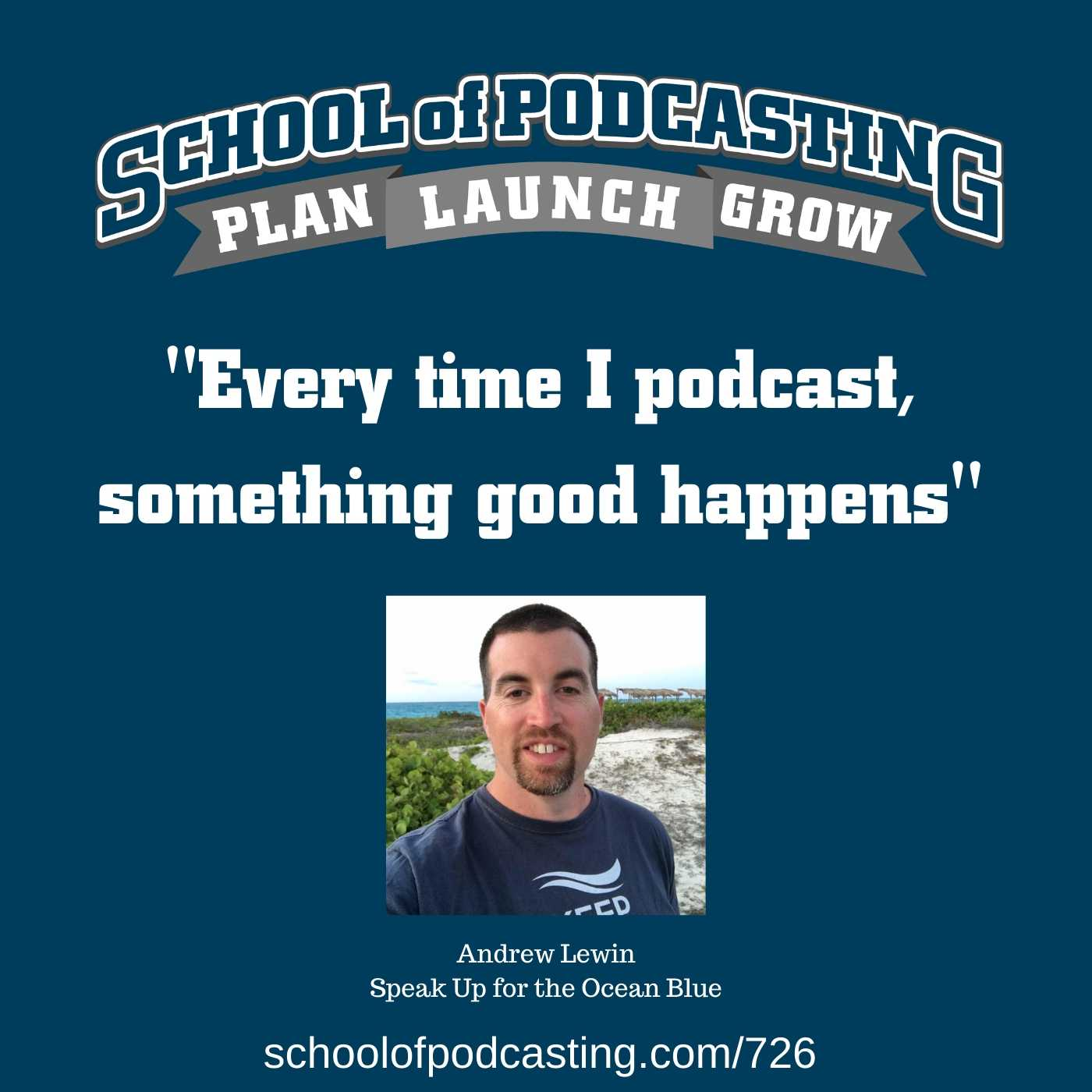 Every time I podcast something good happens - Andrew Lewin Interview