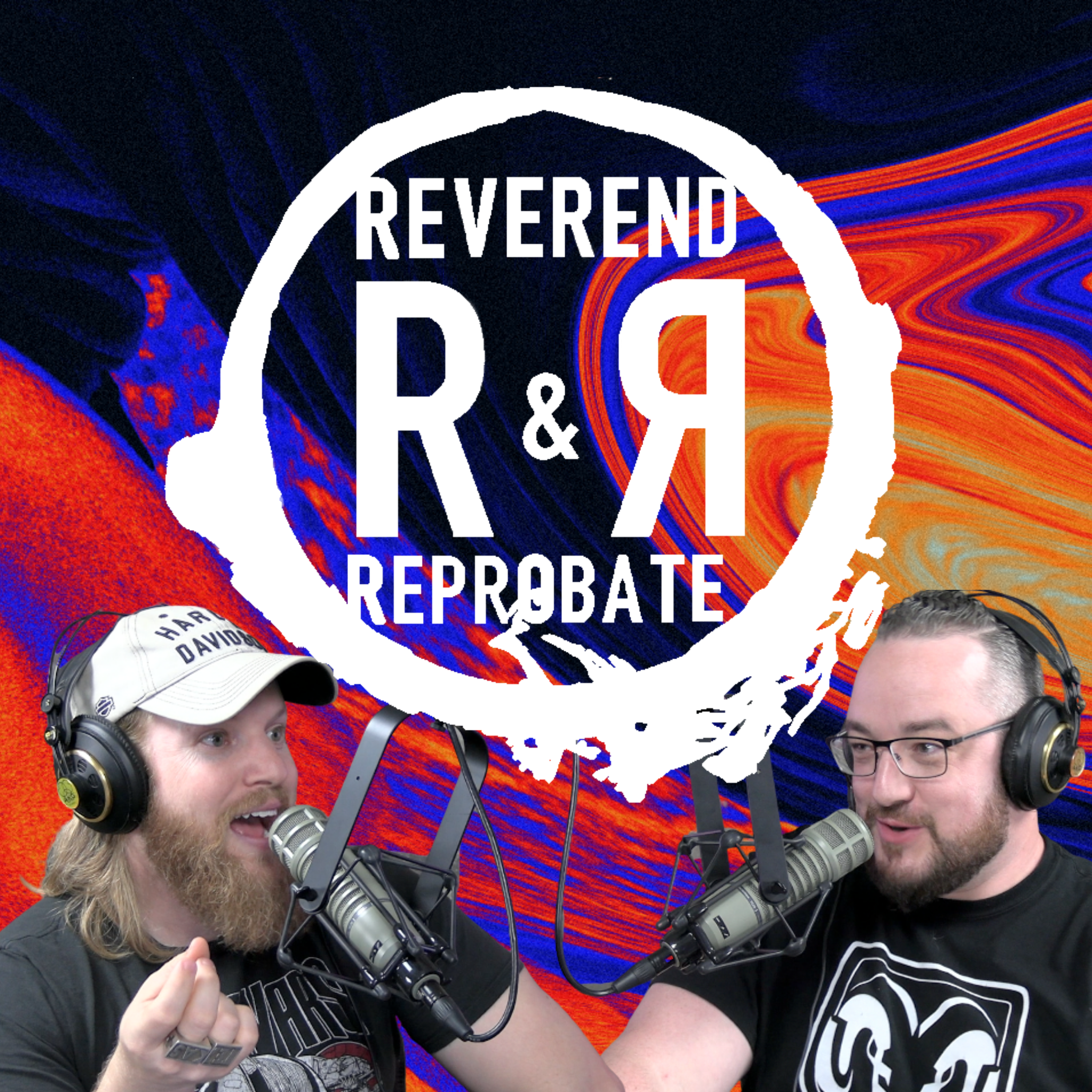The Reverend and the Reprobate show art