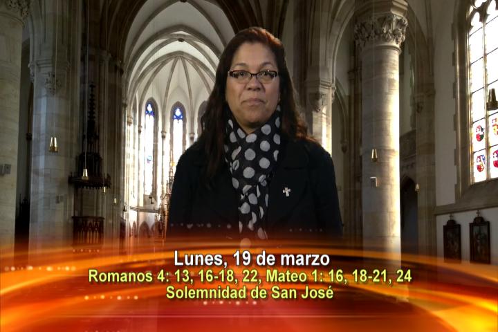 Artwork for Dios te Habla con Angela Valencia; Tema el hoy:  Solemnidad de San José, esposo de la Santísima Virgen María