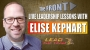 Artwork for Live Leadership Lessons from The FRONT with guest Elise Kephart