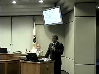 County Board Meeting Video: Aug 2010