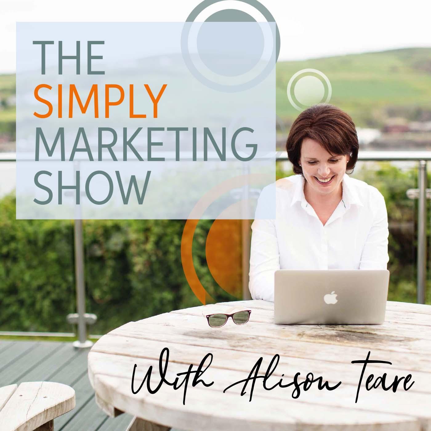 The Simply Marketing Show show art