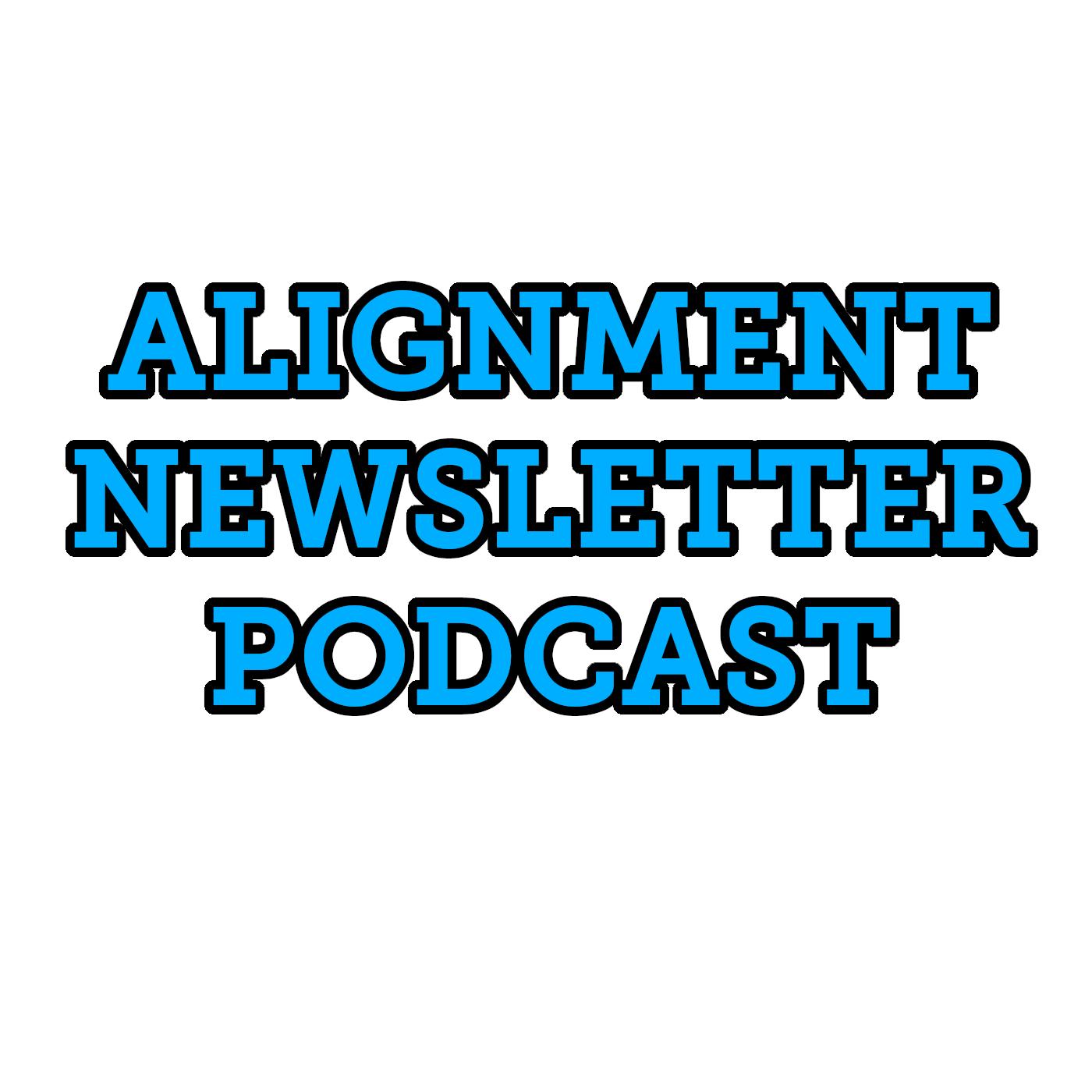 Alignment Newsletter Podcast show art