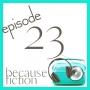 Artwork for Episode 23: Fictional Inspiration in Readers' Lives