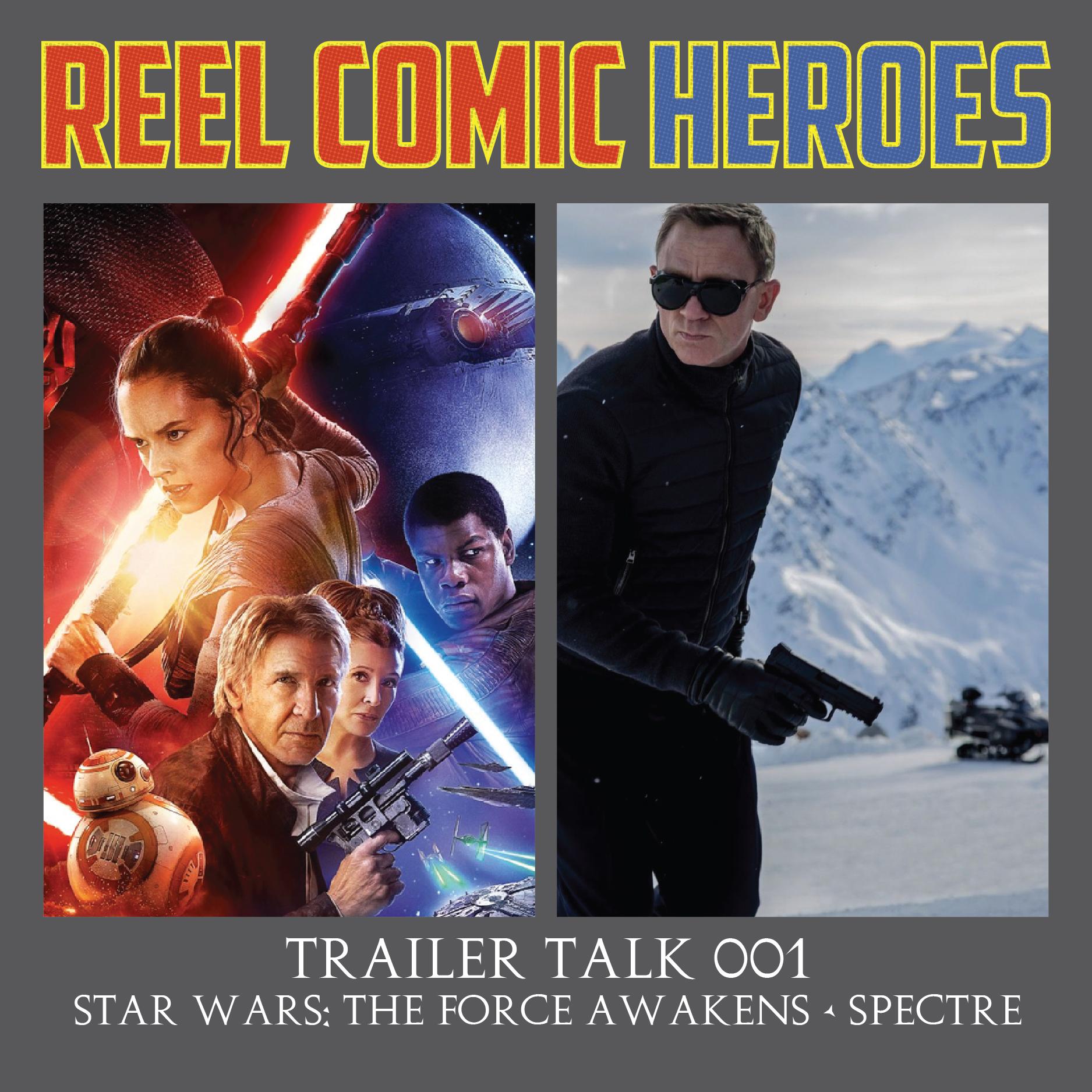 Artwork for Reel Comic Heroes - Trailer Talk 001