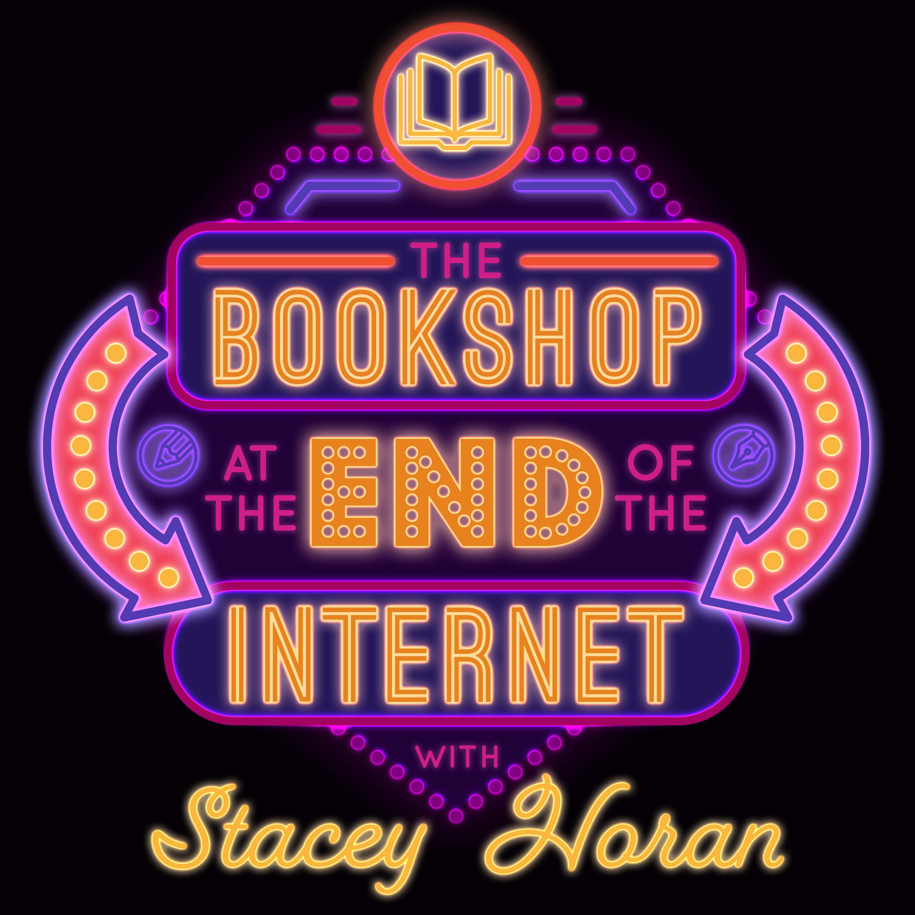 The Bookshop at the End of the Internet show art