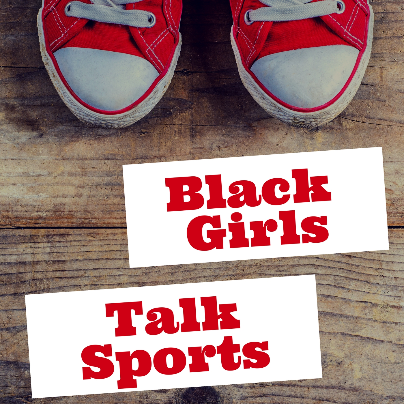 Black Girls Talk Sports show art