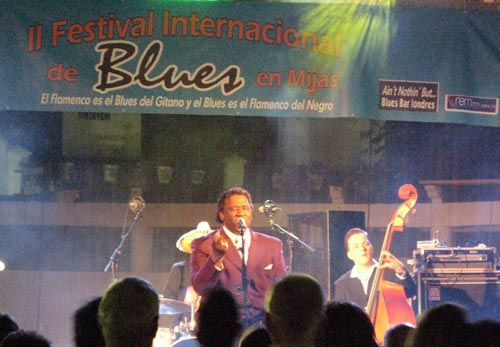 Mud Morganfield on stage and in conversation