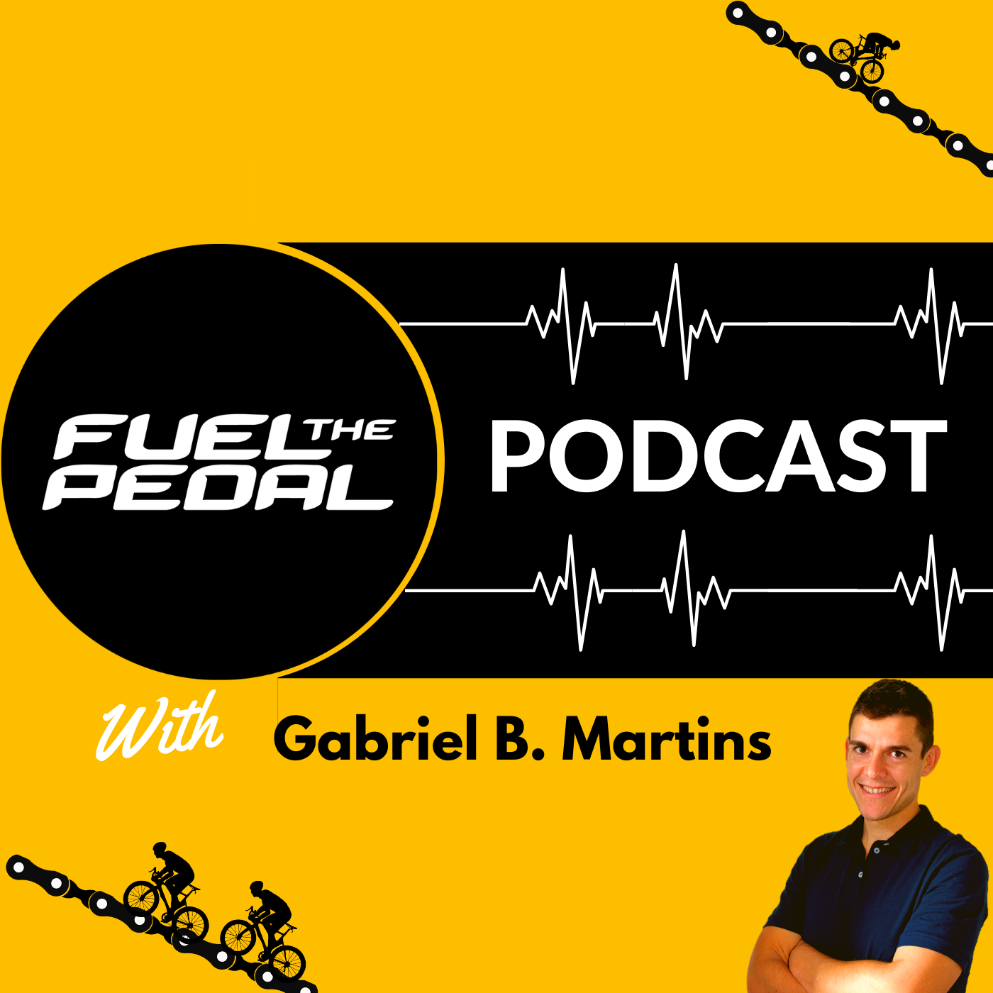 Fuel The Pedal podcast show art