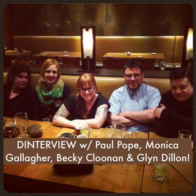 Comic News Insider Episode 473 - DINTERVIEW w/ Paul Pope, Becky Cloonan, Glyn Dillon and Monica Gallagher!