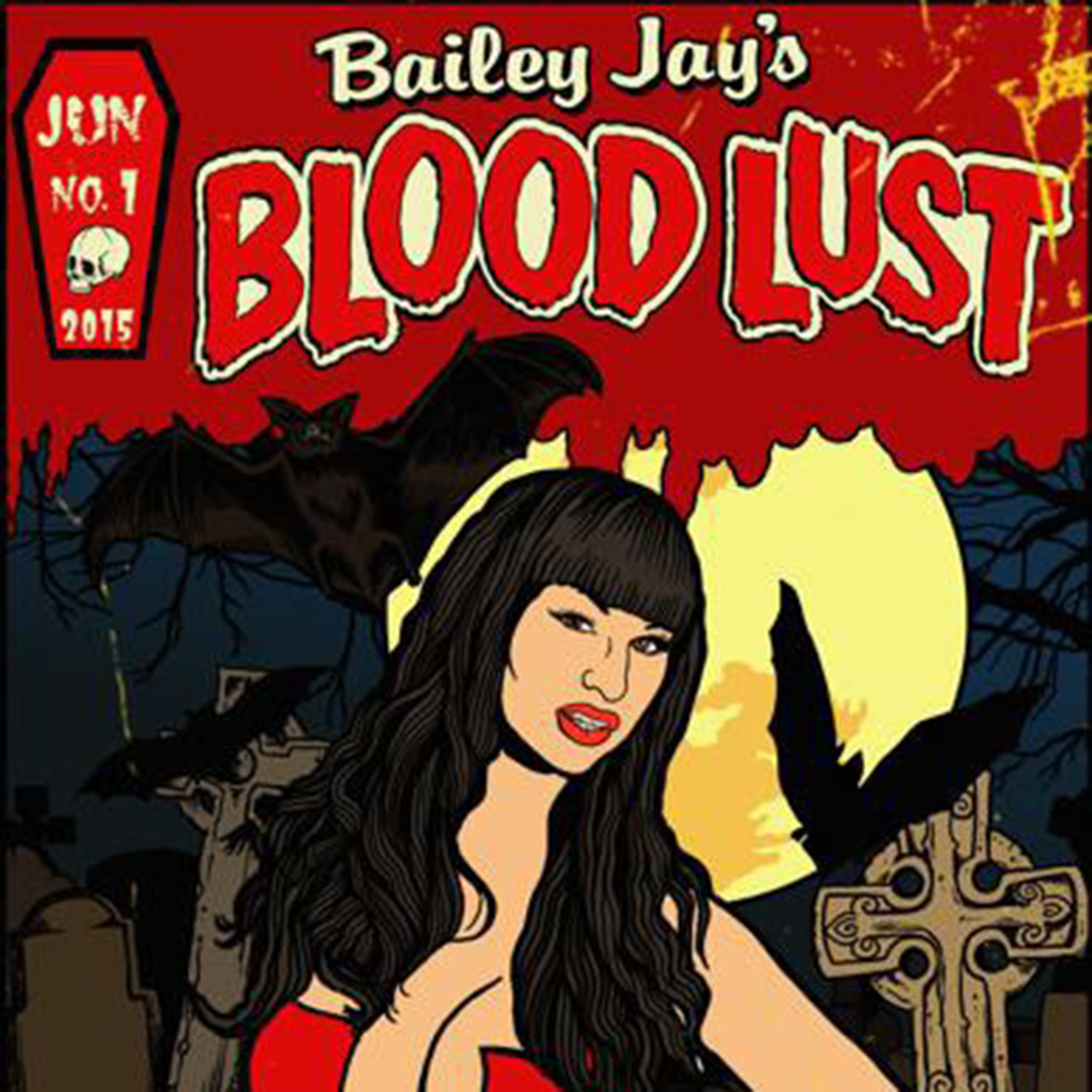 Blood Lust with Bailey Jay logo