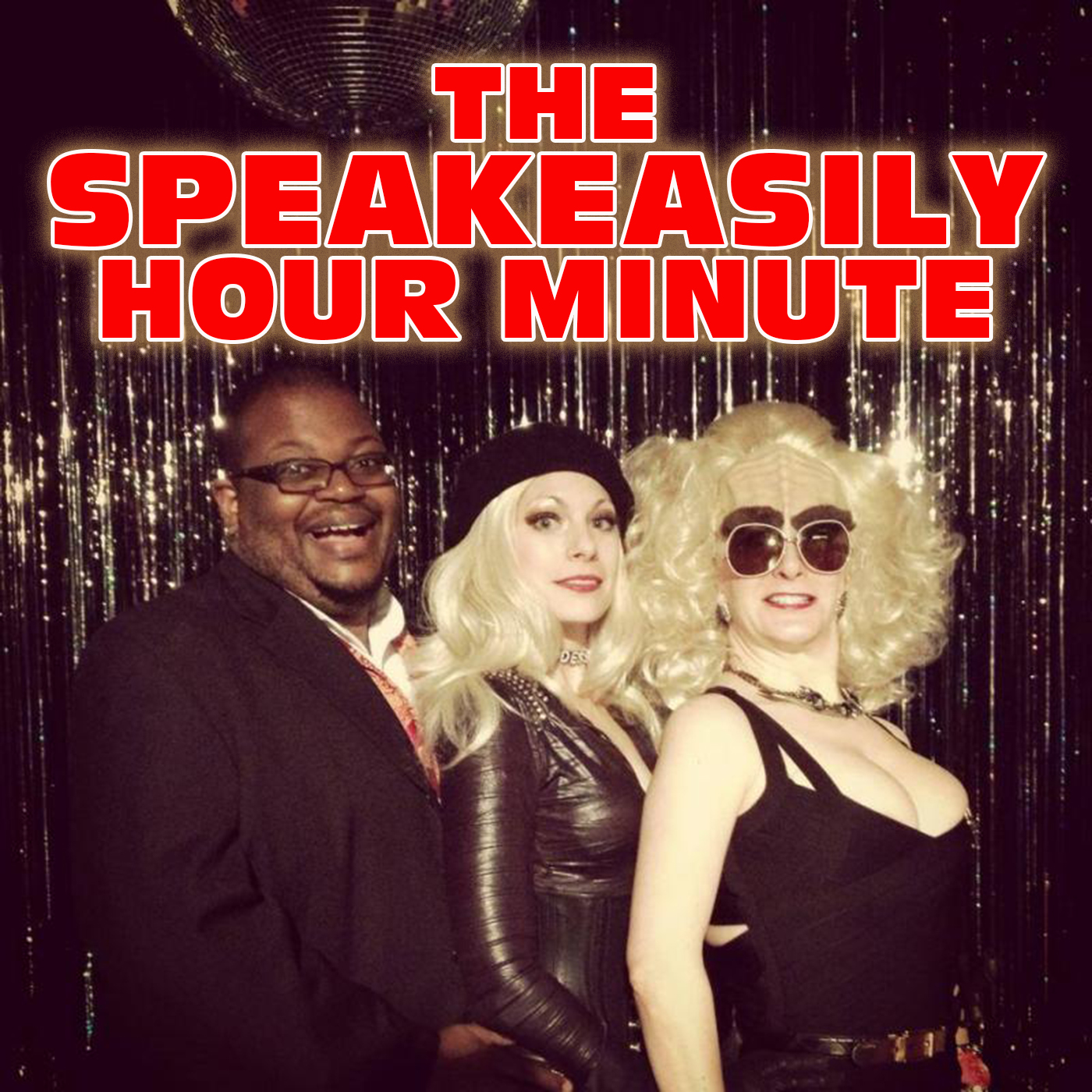 The Speakeasily Hour Minute Podcast show art