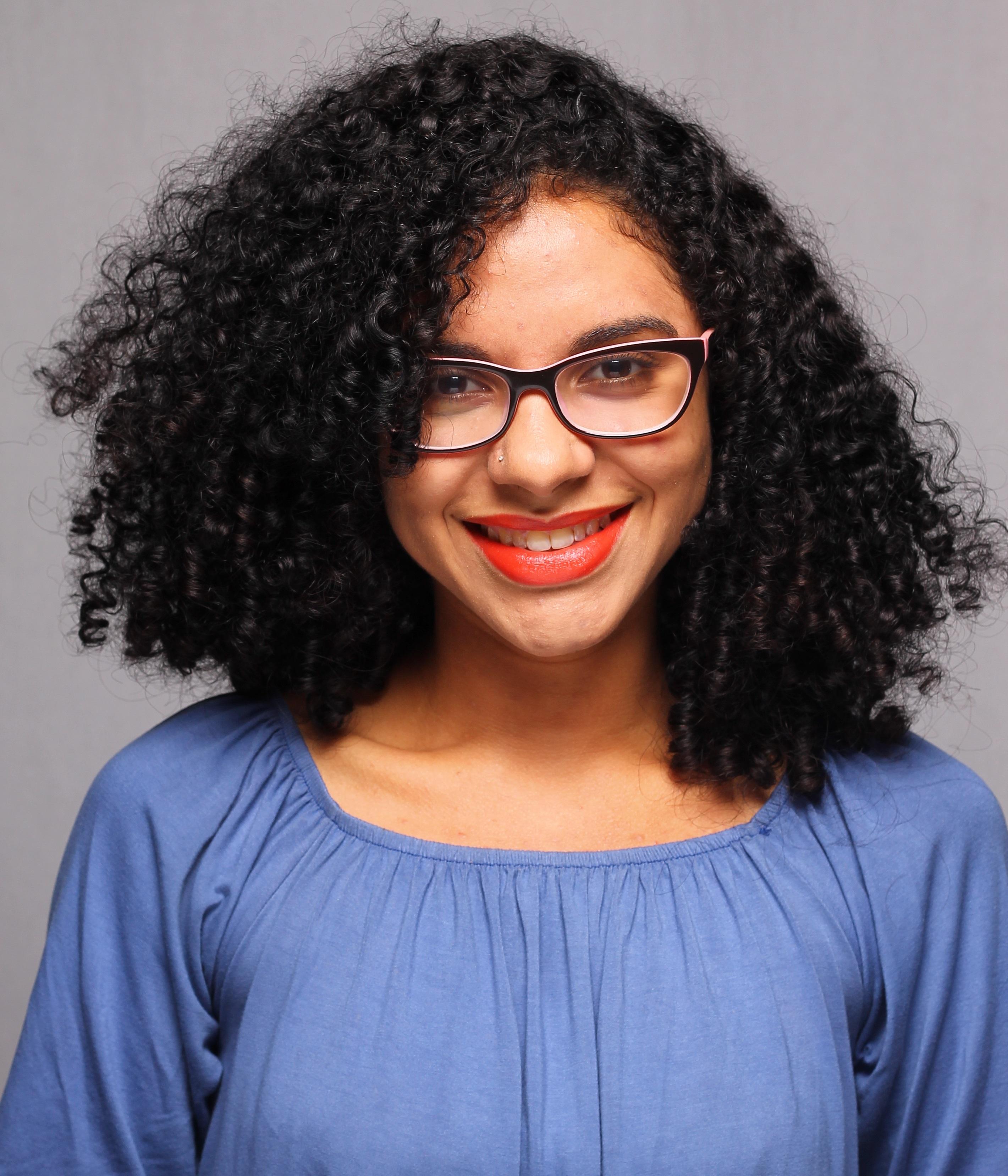Larissa Carvalho, do portal Negrê
