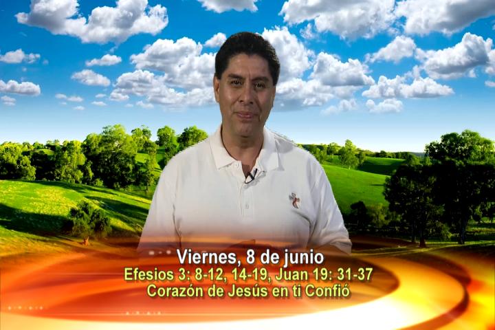 """Artwork for Dios te Habla con Dn. Alfredo Vargas;  Tema el hoy: """"Corazón de Jesús en ti confió""""."""