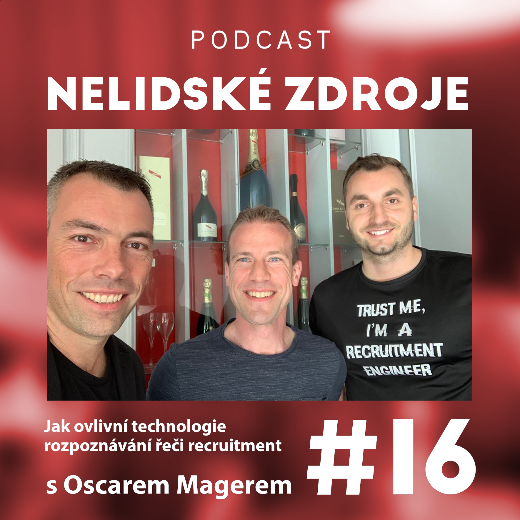 16: Jak ovlivní technologie rozpoznávání řeči recruitment s Oscarem Magerem (anglicky)