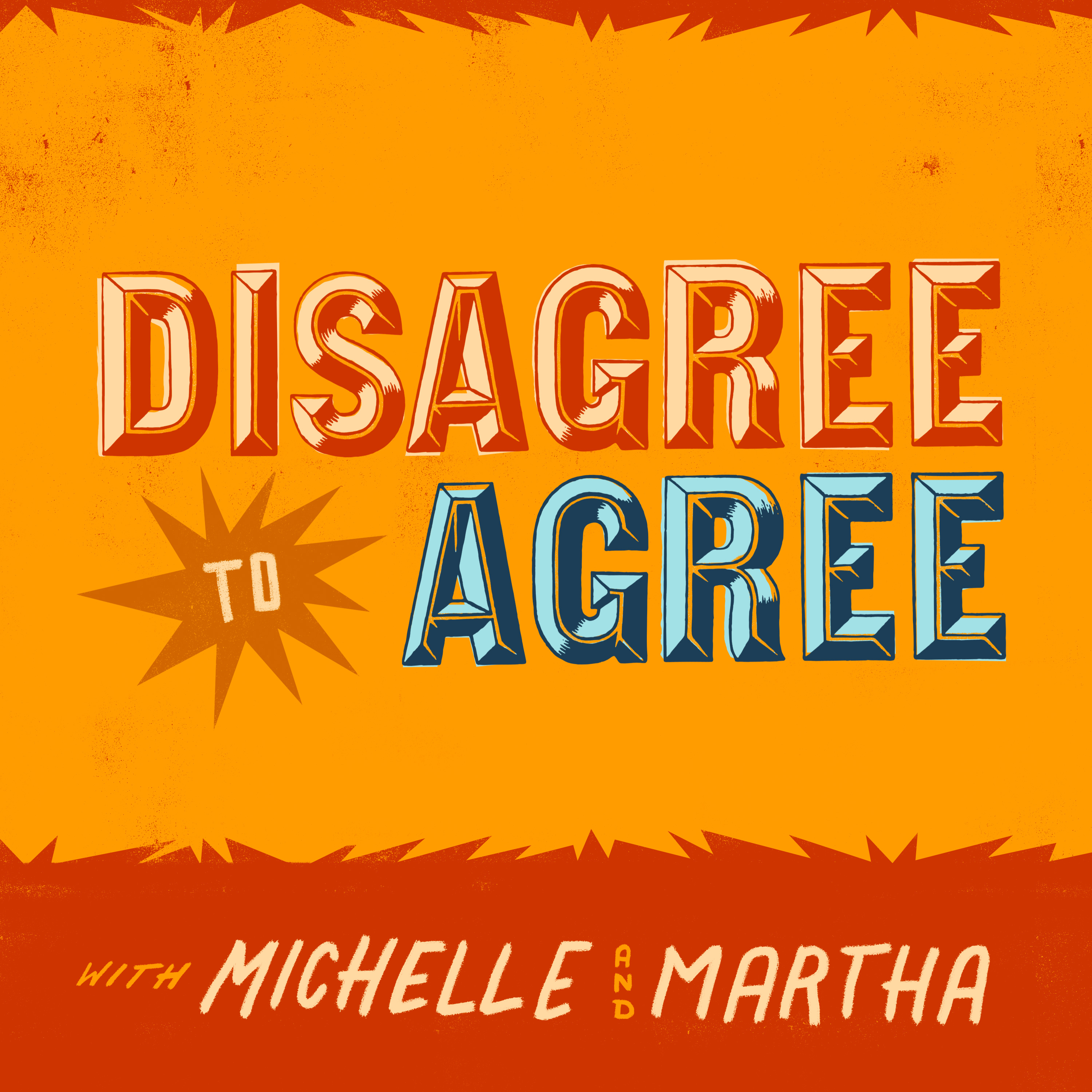 Disagree To Agree with Michelle Biloon and Martha Kelly show art