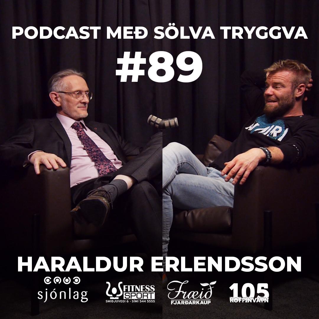 #89 Haraldur Erlendsson með Sölva Tryggva