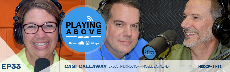 Playing Above The Line | Casi Callaway | ep33