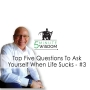 Artwork for Top Five Questions to Ask Yourself When Life Sucks - #3