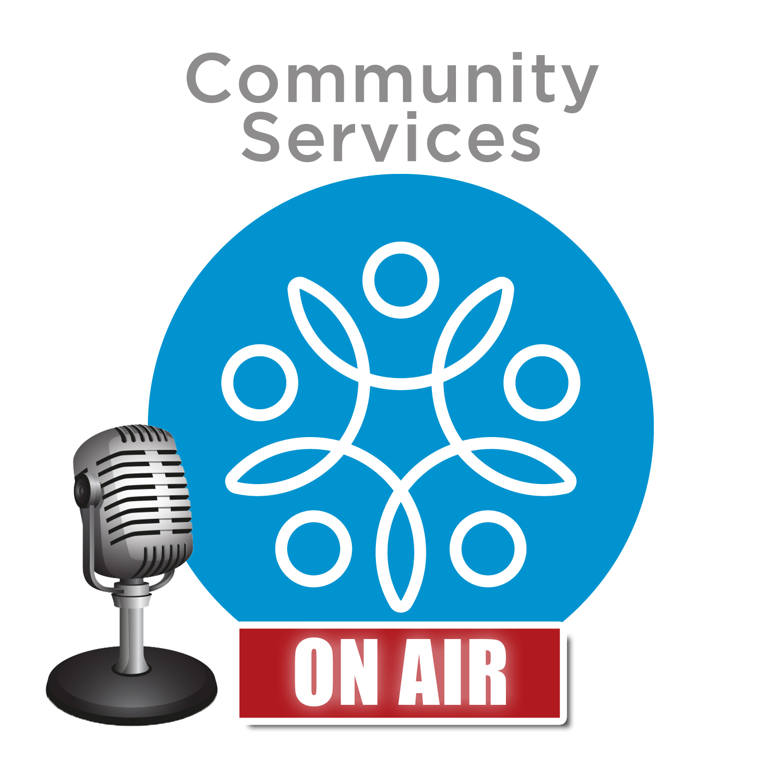 Community Services: On-Air show art