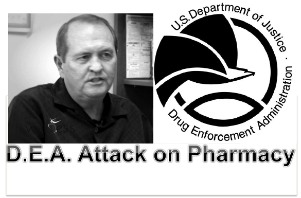 Pharmacy Podcast Episode 94 D.E.A. Attack on Pharmacy