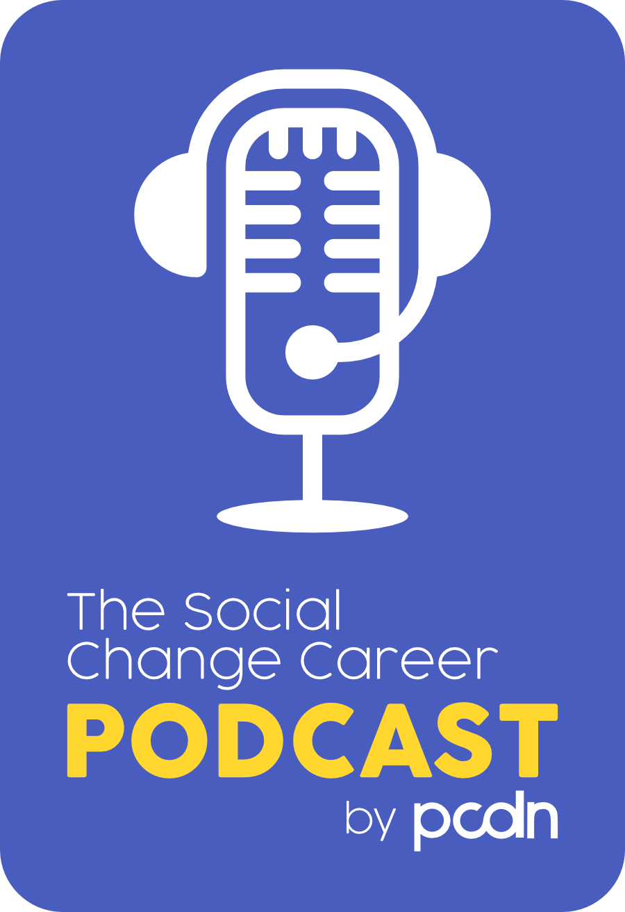 The Social Change Career Podcast show art