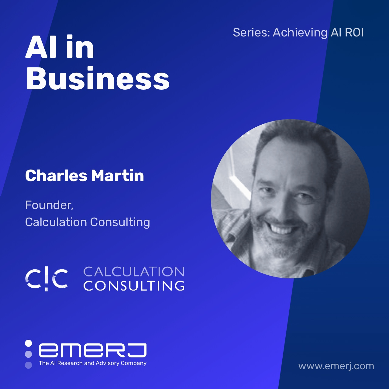How AI Consultants Find Projects and Opportunities - with Charles Martin of Calculation Consulting