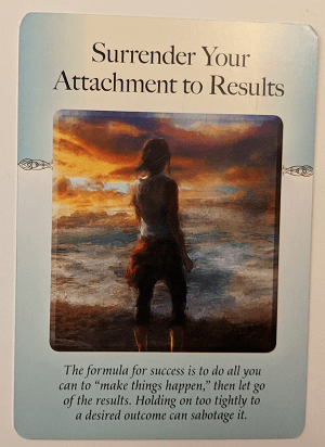 From Judith Orloff's Power of Surrender deck