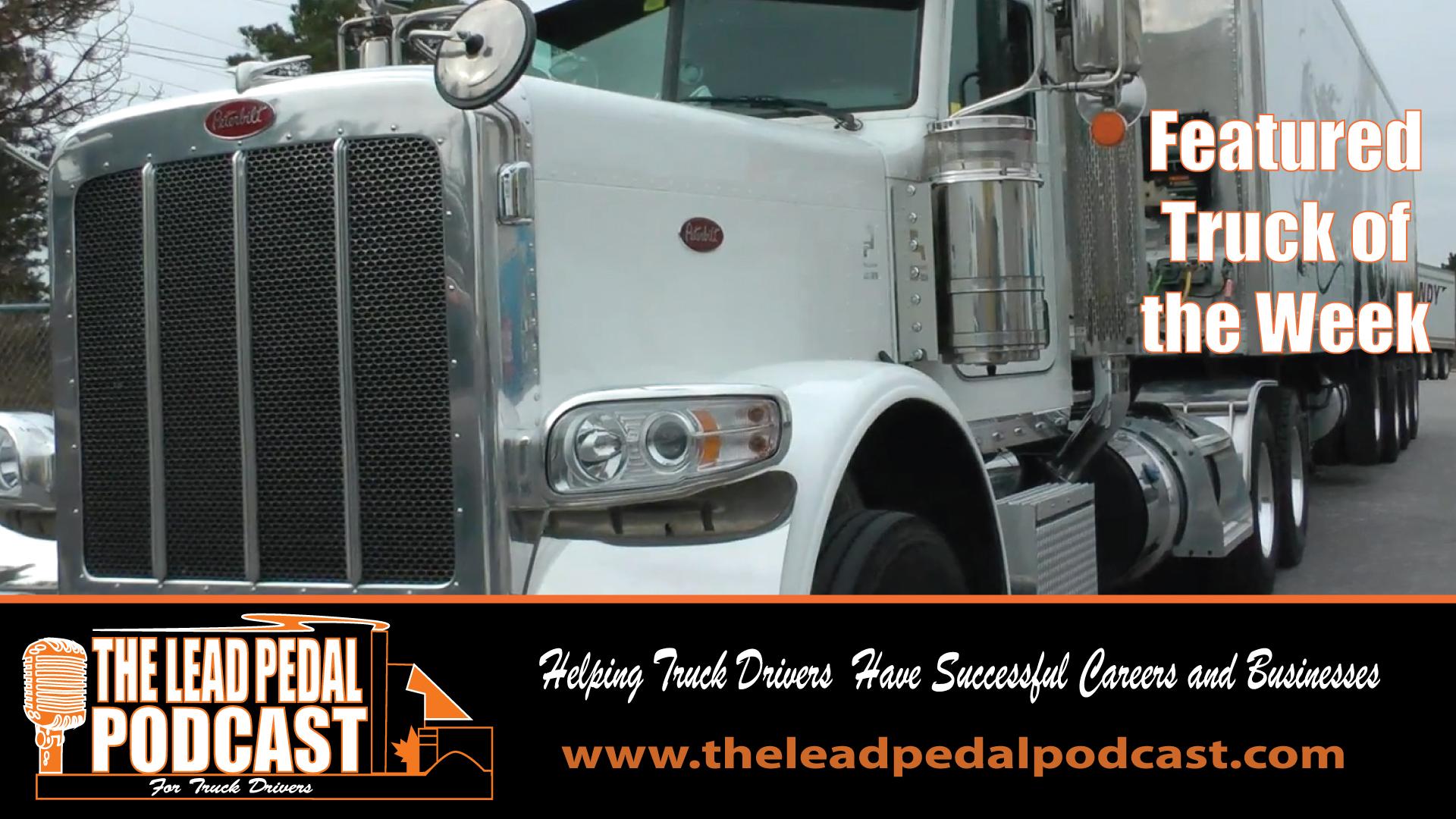 LP663 Featured Truck of the Week Sleeman Peterbilt