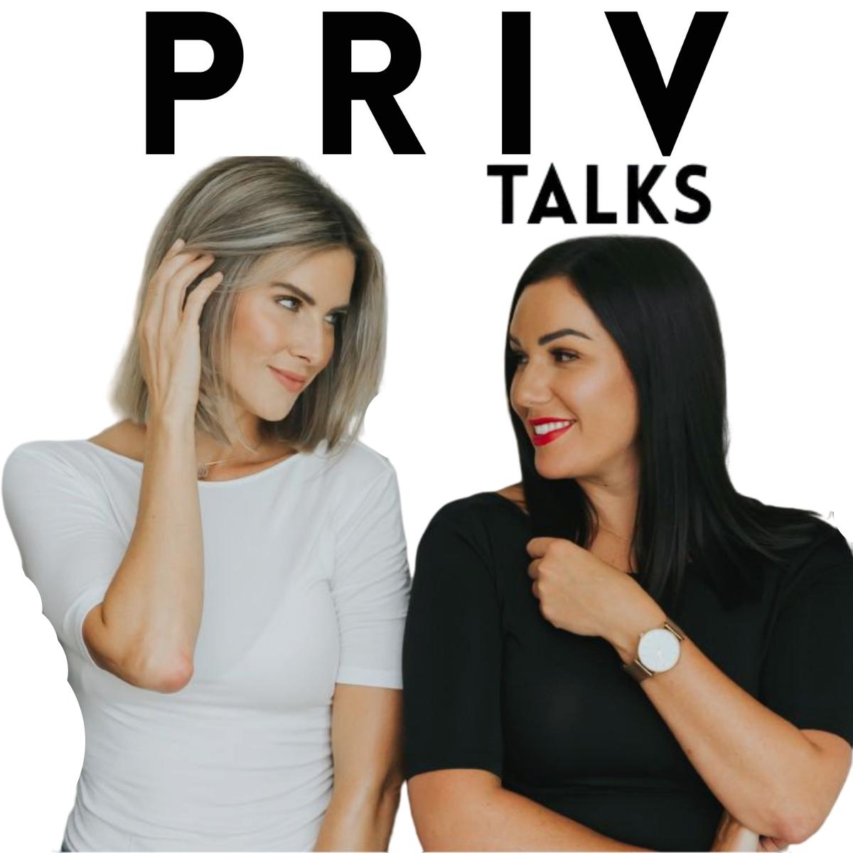 PRIV Talks show art