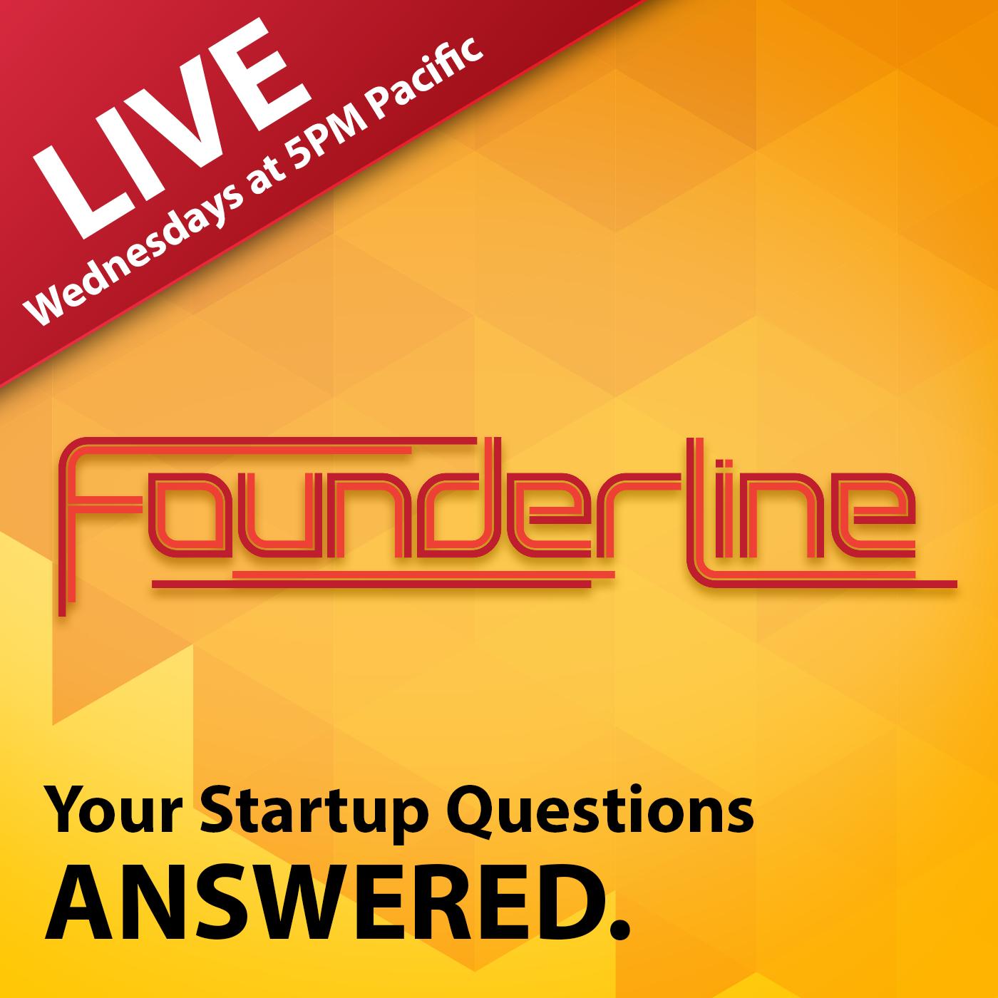 Artwork for FounderLine Episode 3 with guest Greg Sands