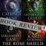 Artwork for THE ROSE SHIELD QUARTET BOOK REVIEW