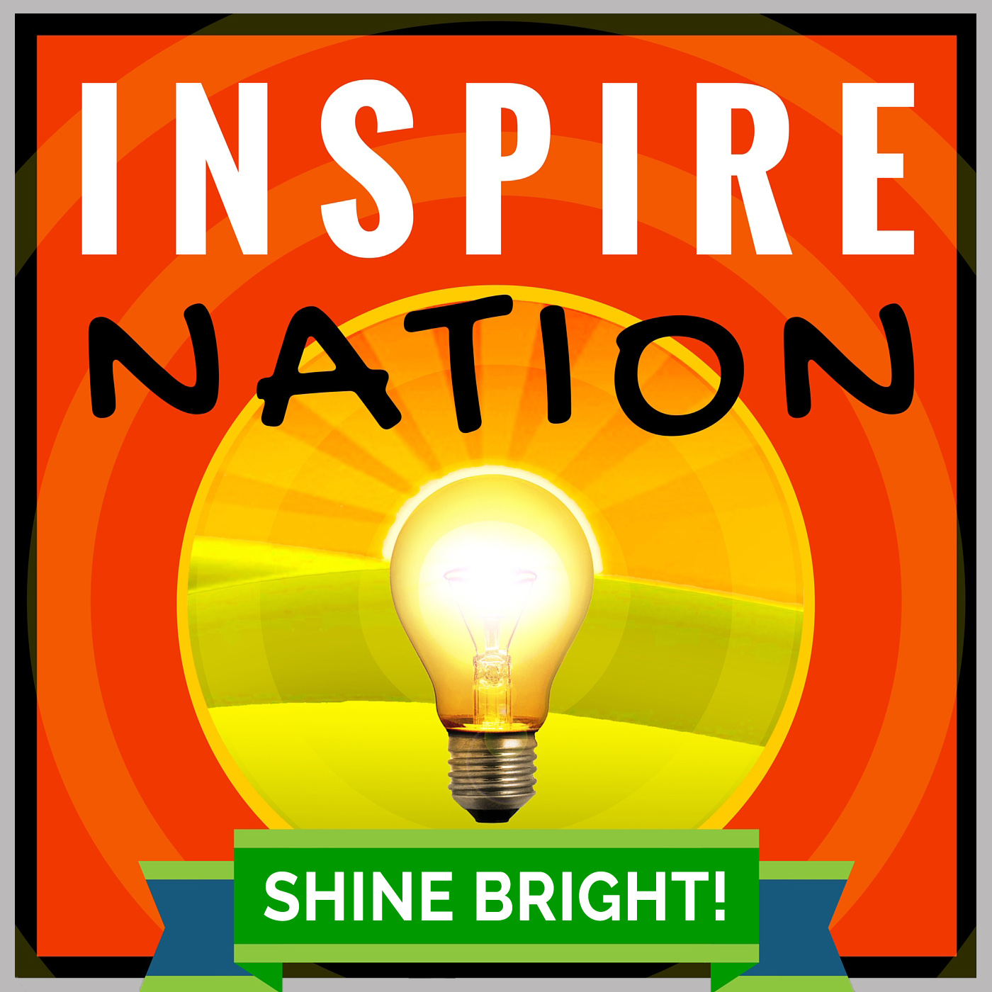 Inspire Nation Show with Michael Sandler show art
