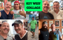 Artwork for Key West Collage: w/ George Fernandez, J.T. Thompson, Dennis Beaver, Paul Menta and Clint from Key Lime Bike Tours