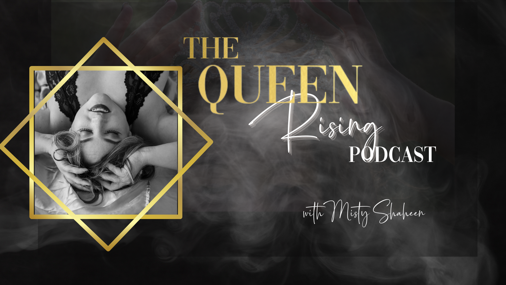 The Queen Rising Podcast show art