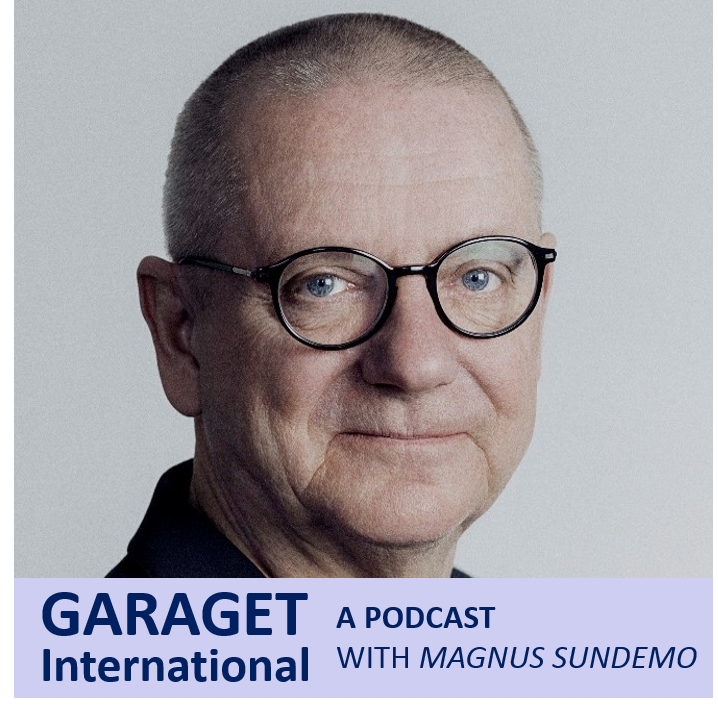 Garaget  International - A Podcast with Magnus Sundemo show art
