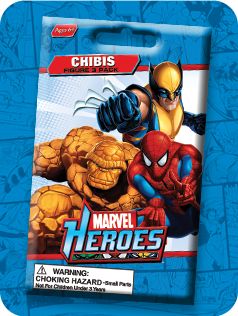 Toy Review - Marvel Heroes Chibis (MP4)