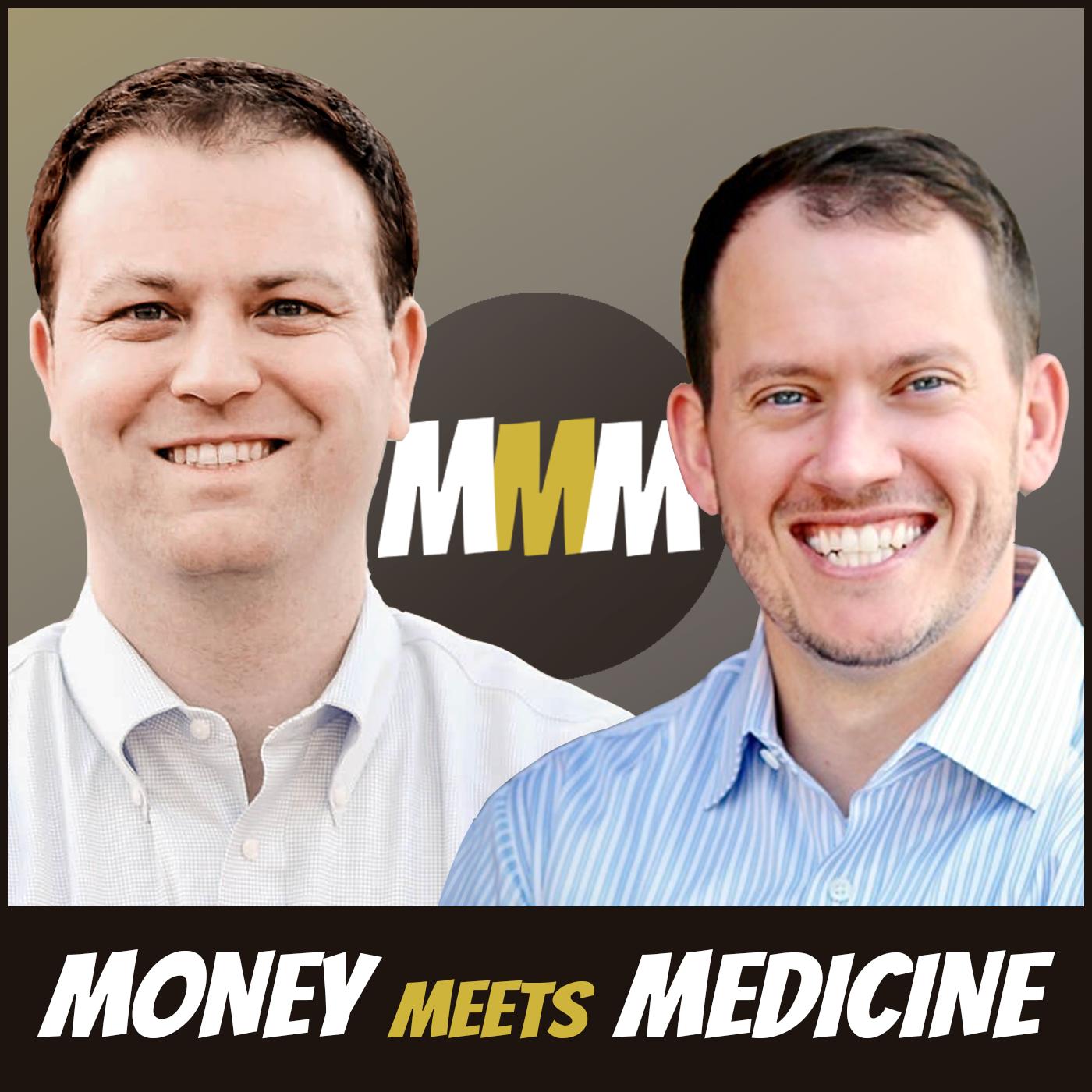 Money Meets Medicine show art