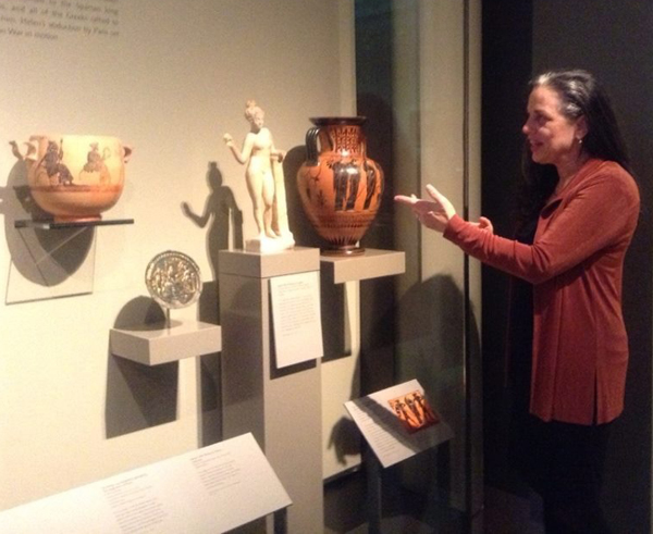 Back Stories of the Ancient Greeks - Norah Dooley @mfa Boston