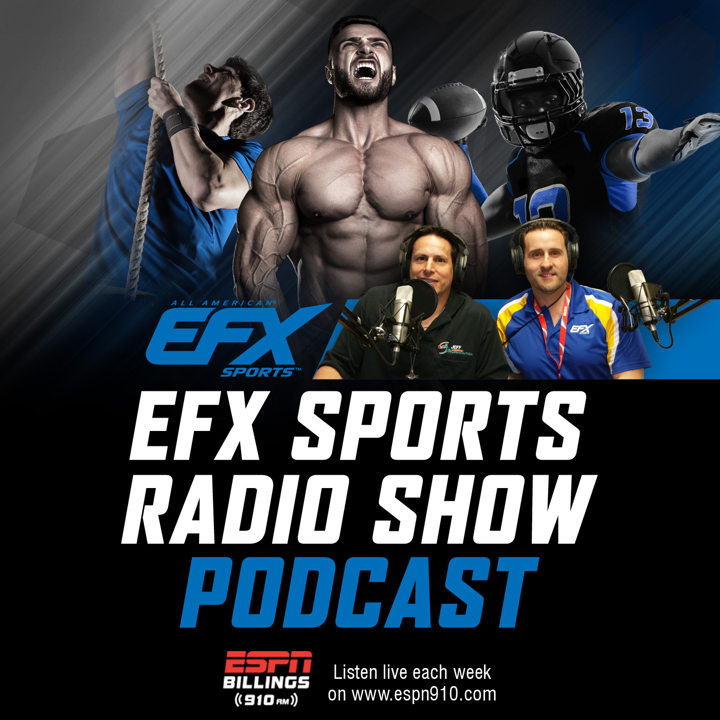 Artwork for EFX Sports Show 37: Meet Leo Lapito Ageless Athlete & CEO Of In Good Health