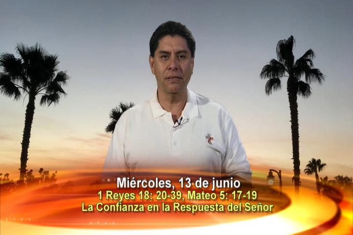 """Artwork for Dios te Habla con Dn. Alfredo Vargas;  Tema el hoy: """"La confianza en la respuesta del Señor""""."""