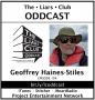 Artwork for The Liars Club Oddcast # 104 | Geoffrey Haines-Stiles, Award-Winning Documentary Filmmaker