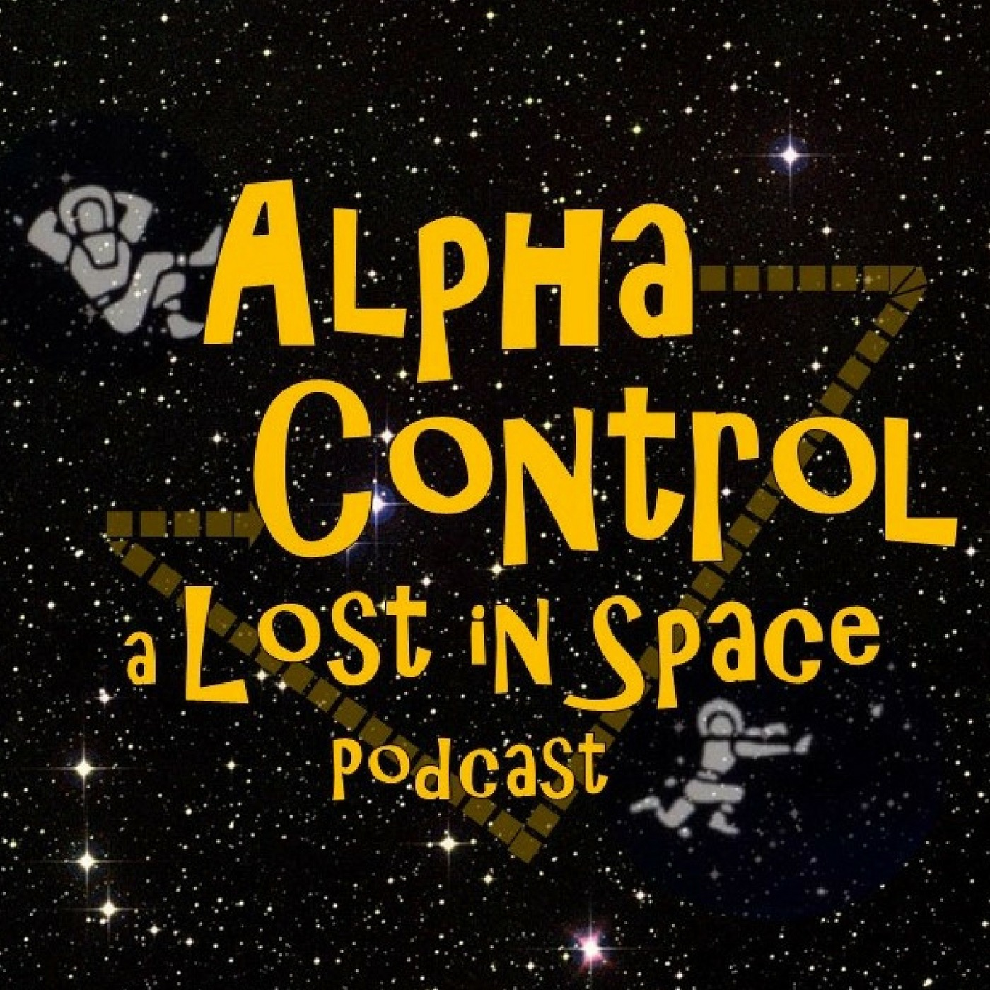 Alpha Control: a Lost in Space Podcast show art