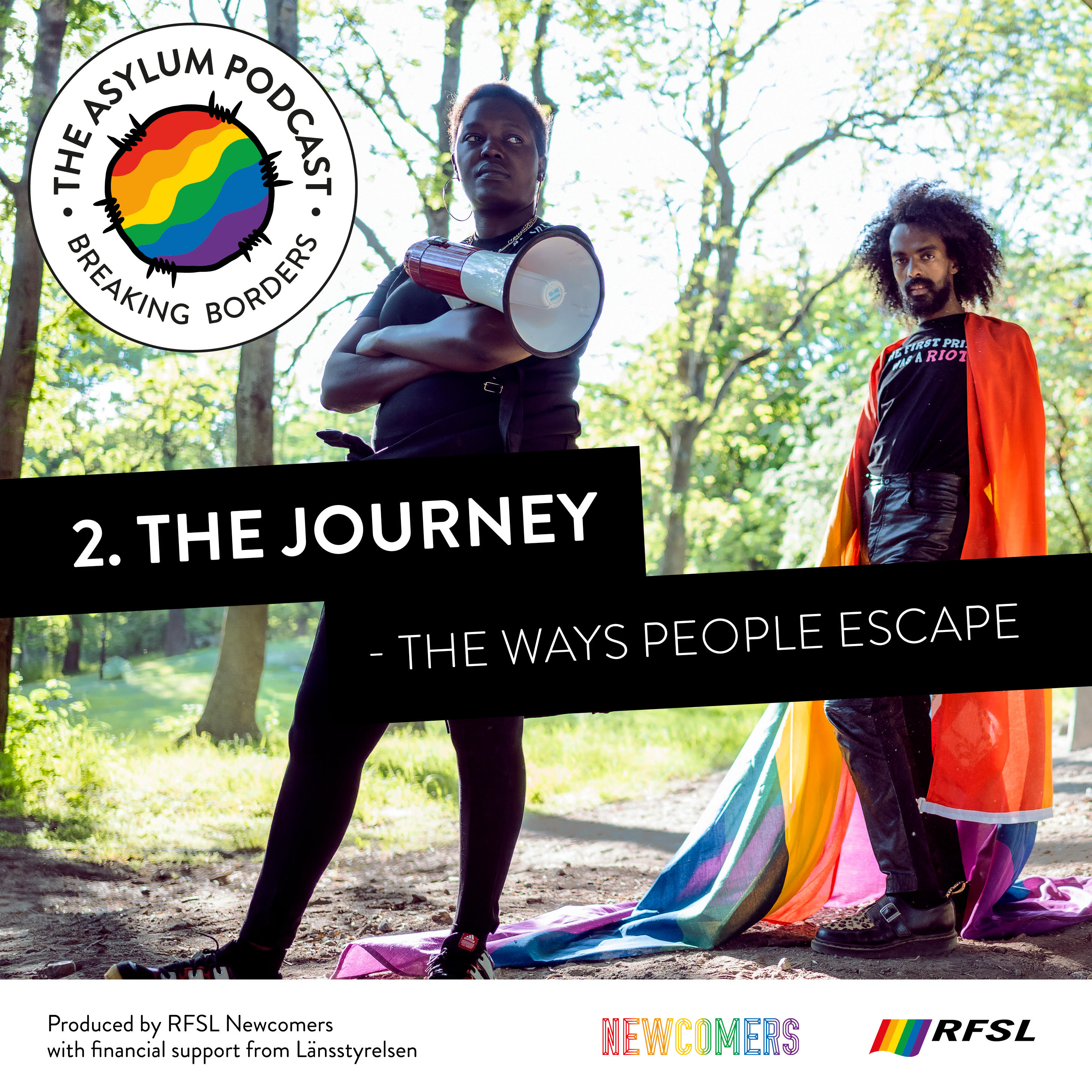 The Asylum Podcast 2. The Journey – the ways people escape
