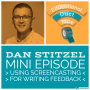 Artwork for Mini010 - Dan Stitzel - Using Screencasts to Give Feedback to Students
